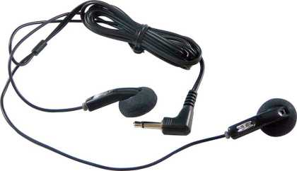 Dual Earbud for translation/ tourguide system receiver