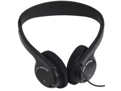Stereo headset for CR-711 tour guide receiver