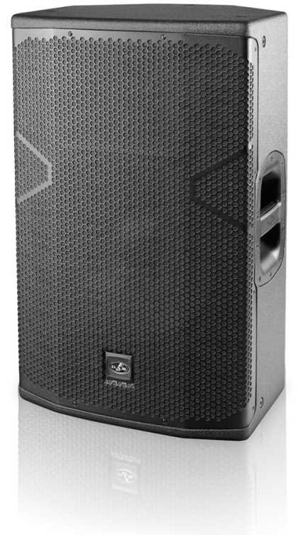 "DAS Powered 15"", 2 way speaker, 1500W, Bluetooth linking"