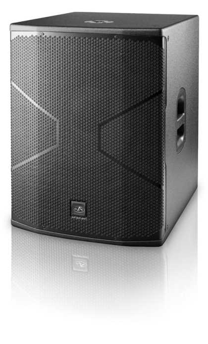 "DAS Powered 18"", 1500W, Class D, Biamped, subwoofer"