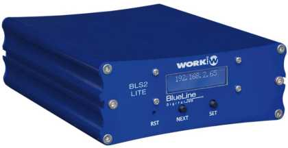 BLS 2 LITE. Audio over IP SENDER-  Blueline Digital