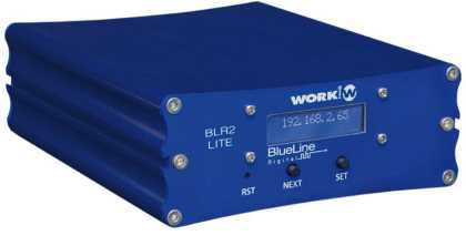 BLR 2 LITE MkII. Audio over IP RECEIVER - Blueline