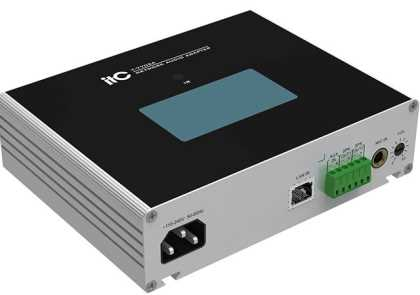IP Network Audio Interface (2 x 15w / with colour screen)