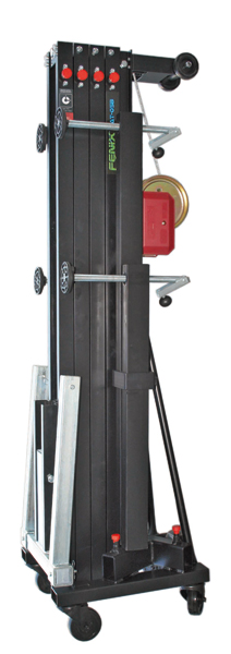 Aluminium Frontal Loading Tower Load From Ground Blk