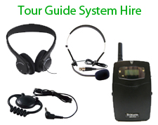 Tour Guide System Hire